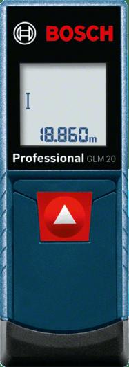 Лазерный дальномер Bosch GLM 20 Professional